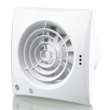 "White Quiet Extractor Fan 4"" 100mm"