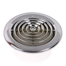 Round Chrome Ceiling Diffuser Circular Vent Grille
