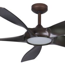 """Fantasia Sirocco Oil Rubbed Bronze Ceiling Fan 54"""" - With Light"""