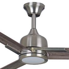 "Fantasia Darwin Brushed Nickel Ceiling Fan 44"" or 54"""