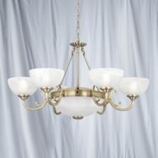Windsor Ceiling Light - 8 Light 3778-8AB