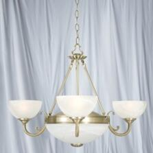 Windsor Ceiling Light - 5 Light 3775-5AB