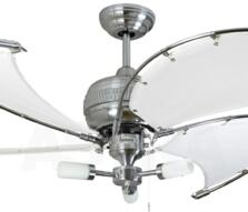 "Fantasia Spinnaker Combi 52"" Ceiling Fan - S/Steel"
