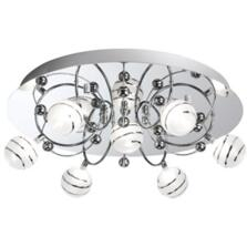 Bauble Flush Ceiling Light - 7 Light 8657-7CC