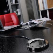 Sensiopod Black Nickel Pop Up Socket SE80050GM - Black Nickel Finish