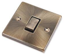 Antique Brass Light Switch