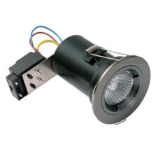 Black Nickel Fire-Rated Downlight IP20 Fixed