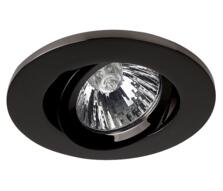 Black Nickel Fire Rated Downlight Adjustable GU10 - Fitting Only