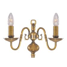 Flemish Wall Light - 2 Light 1019-2AB