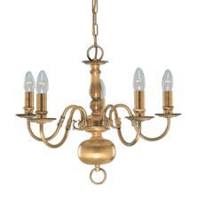 Flemish Ceiling Light - 5 Light 1019-5AB