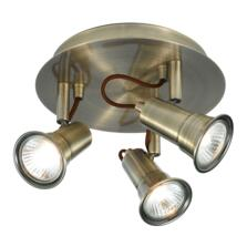 Gaia Spotlight - 3 Light Halogen Round 1223AB