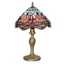 Tiffany Table Lamp - Bronze Dragonfly 1287