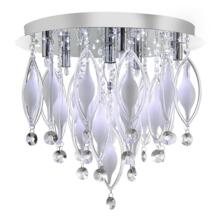 Spindle 6 Light Flush Ceiling Fitting - 2456-6CC