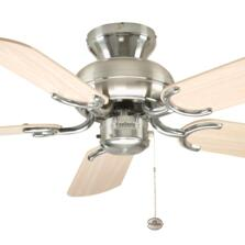 Fantasia Capri Ceiling Fan - Stainless Steel