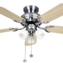 Fantasia Amalfi Ceiling Fan Light -Stainless Steel
