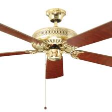 "Fantasia Classic Ceiling Fan - Polished Brass  - 52"" (1320mm)"
