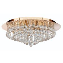 Hanna Ceiling Light - 8 Light Flush 3408-8GO