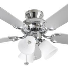 "Fantasia Capri Combi Ceiling Fan -Stainless Steel  - 36"" (910mm)"