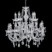 Marie Therese Chandelier - 12 Light Crystal 399-12
