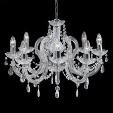 Marie Therese Chandelier - 8 Light Crystal 399-8