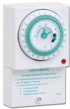 Immersion Heater Timer -24 Hr Mechanical Timeclock