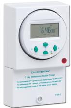 Electronic Immersion Heater Timer - 7 Day