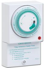 Mechanical Immersion Heater Timer - 7 Day