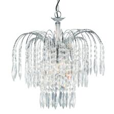 Waterfall Crystal Ceiling Light - 3 Light 4173-3