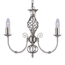 Zanzibar Ceiling Light - Silver 3 Light 4489-3