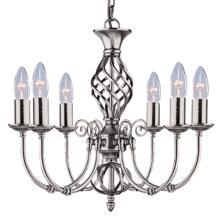 Zanzibar Ceiling Light - Silver 6 Light 4489-6
