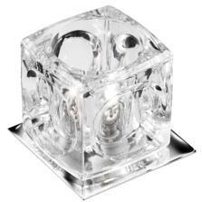 Halogen Downlight - Clear Ice Cube Glass 5159CC