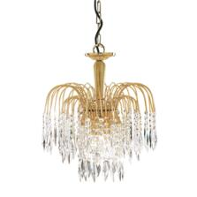 Waterfall Crystal Ceiling Light - 3 Light 5173-3