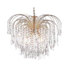 Waterfall Crystal Ceiling Light - 5 Light 5175-5
