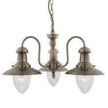 Fisherman Ceiling Light - 3 Light 5333-3AB
