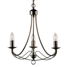 Maypole Ceiling Light - Ant Brass 3 Light 6343-3AB
