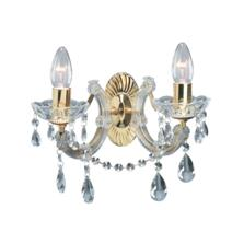 Marie Therese Wall Light - 2 Light Crystal 699-2