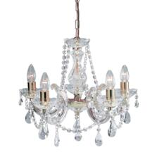 Marie Therese Chandelier - 5 Light Crystal 699-5