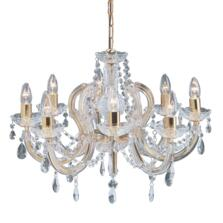 Marie Therese Chandelier - 8 Light Crystal 699-8