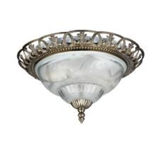 Flush Ceiling Light - Antique Brass 7045-13
