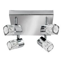 Blocs Spotlight - 4 Light LED Square 7884CC-LED