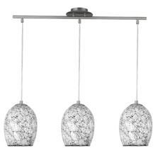 Crackle Ceiling Light - 3 Light Bar 8069-3WH