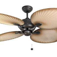 Fantasia Palm Ceiling Fan - Chocolate Brown