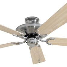 "Fantasia Riviera Ceiling Fan - Stainless Steel - 52"" (1320mm)"