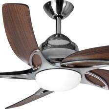 "Fantasia Viper Plus 44"" Ceiling Fan - Stainless Steel"