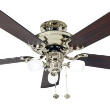 Fantasia Mayfair Combi Ceiling Fan - Polished Brass - 42""