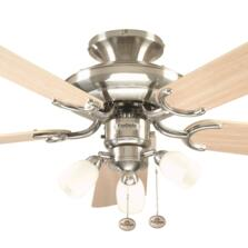 Fantasia Mayfair Combi Ceiling Fan - S/Steel