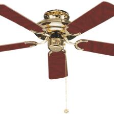 "Fantasia Mayfair Ceiling Fan - Polished Brass - 42"" (1070mm)"