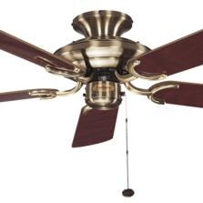 Fantasia Mayfair Ceiling Fan - Antique Brass