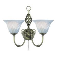 Cameroon Wall Light - Antique Brass 972-2