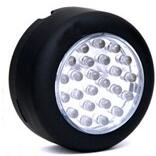 LED Torch - Magnetic Work Light with Hook 24 LEDs